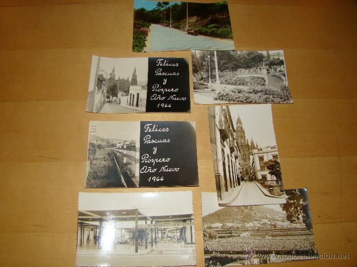 LOTE DE POSTALES FOTOGRAFÍAS DE ARUCAS (Postales - España - Canarias Moderna (desde 1940))