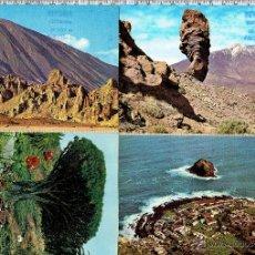 Postales: LOTE 4 POSTALES ISLA DE TENERIFE-REFUGIO ALTAVISTA.. Lote 43932584
