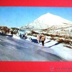 Postales: SIN CIRCULAR. EL TEIDE NEVADO.. TENERIFE..... Lote 43961511