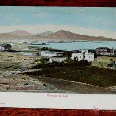 Postales: POSTAL DE LAS PALMAS (GRAN CANARIA), PORT DE LA LUZ, BAZAR ALEMAN, 3144, SIN CIRCULAR. Lote 44009153