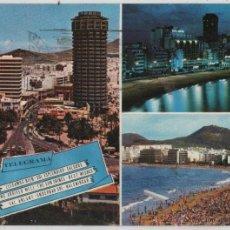 Postales: POSTAL-PLAYA DE LAS CANTERAS Y HOTEL DON JUAN. Lote 44237383