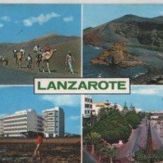 Postales: POSTAL-LA ISLA DE LOS VOLCANES-LANZAROTE. Lote 44237393
