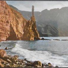 Postales: (18992)POSTAL ESCRITA,DEDO DE DIOS; PUERTO DE LAS NIEVES,AGAETE,LAS PALMAS,CANARIAS,CONSERVACION:VER. Lote 44269237