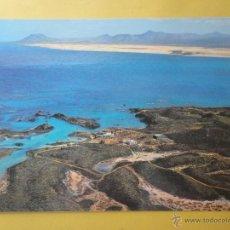 Cartes Postales: ISLA DE LOBOS, AL FONDO ISLA DE FUERTEVENTURA. ED. LAS AFORTUNADAS. Lote 44620178