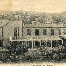 Postales: POSTAL ANTIGUA-TENERIFE -HOTEL MARTINEZ EN OROTAVA. Lote 44777501
