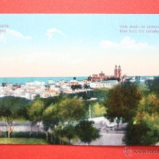 Postales: ANTIGUA POSTAL DE LAS PALMAS. GRAN CANARIA. VISTA DESDE UN EXTREMO. ESCRITA. Lote 45145408
