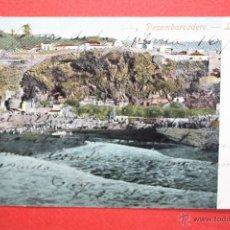 Postales: ANTIGUA POSTAL DE LA PALMA. DESEMBARCADERO. CIRCULADA. Lote 45145764