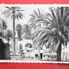 Postales: ANTIGUA FOTO POSTAL DE LAS PALMAS. GRAN CANARIA. PUEBLO CANARIO. ED. ARRIBAS. CIRCULADA. Lote 45145937