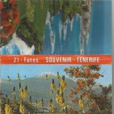 Postales: ** TP14 - TIRA DE 21 POSTALES - SOUVENIR - TENERIFE. Lote 49364776