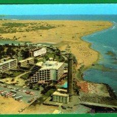 Postales: FARO DE MASPALOMAS - GRAN CANARIA - POSTAL CIRCULADA Y FRANQUEADA - AÑO 1987. Lote 45513808