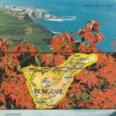 Postales: Nº 12924 POSTAL PUERTO DE LA CRUZ Y GARACHICO TENERIFE. Lote 45563046