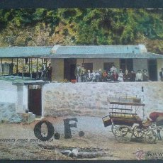 Postales: BAÑOS MINERALES FIRGAS GRAN CANARIA, SELLO ALFONSO XIII, TAMPON PAQUEBOT PLYMOUTH. Lote 45719677