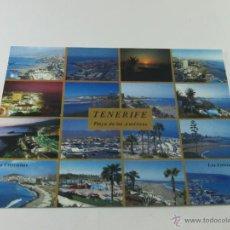 Postales: Aª POSTAL-TENERIFE-PLAYA DE LAS AMERICAS Y LOS CRISTIANOS-ESCRITA-NO CIRCULADA-VER FOTOS.. Lote 45752119