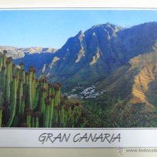 Postales: POSTAL DE GRAN CANARIA, ISLAS CANARIAS. AÑO 1994. VALLE DE AGAETE. 1570. Lote 45952989