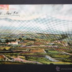 Postales: ANTIGUA FOTO POSTAL DE TENERIFE. VALLE DE LA OROTAVA. CIRCULADA. Lote 46050294