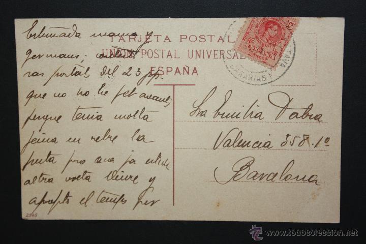 Postales: ANTIGUA POSTAL DE S. JUAN DE LA RAMBLA. TENERIFE. VISTA GENERAL. CIRCULADA - Foto 2 - 46050422