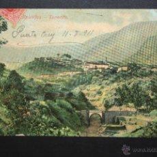 Postales: ANTIGUA POSTAL DE LOS REALEJOS. TENERIFE. VISTA PARCIAL. CIRCULADA. Lote 46050681