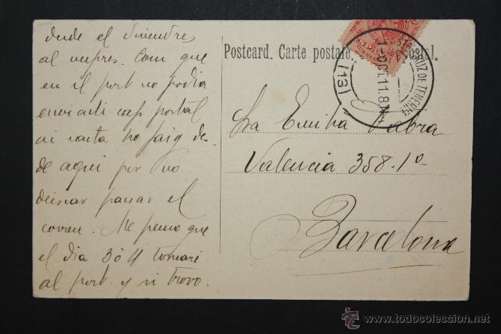 Postales: ANTIGUA POSTAL DE SANTA CRUZ. TENERIFE. VISTA GENERAL. CIRCULADA - Foto 2 - 46051088