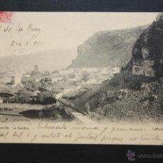 Postales: ANTIGUA POSTAL DE TENERIFE. LA RAMBLA. VISTA GENERAL. CIRCULADA. Lote 46051191