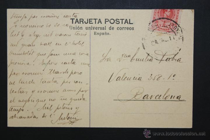 Postales: ANTIGUA POSTAL DE TENERIFE. LA RAMBLA. VISTA GENERAL. CIRCULADA - Foto 2 - 46051191