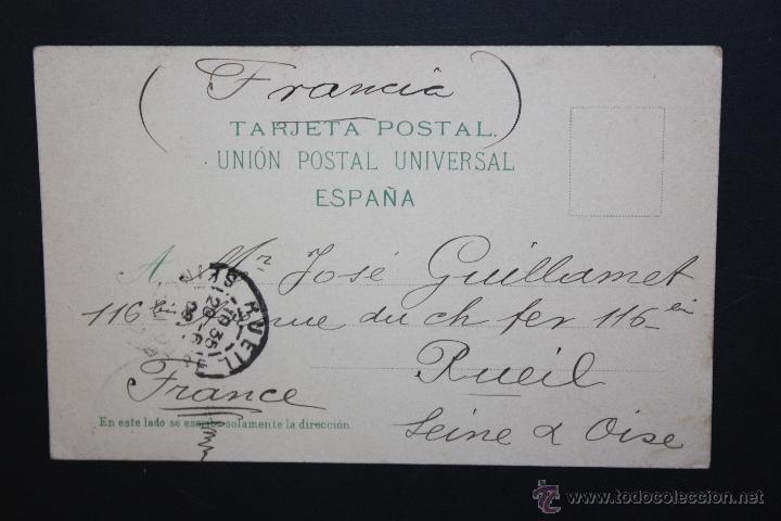 Postales: ANTIGUA POSTAL DE LA LAGUNA. TENERIFE. VISTA GENERAL. CIRCULADA - Foto 2 - 46088074