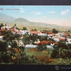 Postales: ANTIGUA POSTAL DE TENERIFE. VILLA DE OROTAVA. VISTA GENERAL. ESCRITA. Lote 46088175