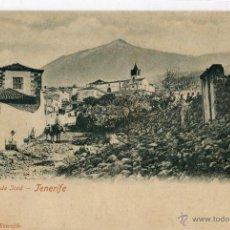 Postales: POSTAL ANTIGUA -TENERIFE-EL TEIDE DESDE JCOD. Lote 46098497