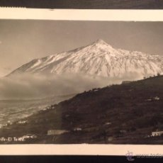 Postales: TENERIFE. EL TEIDE. (FOT. BAENA). Lote 46130058