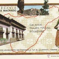Postales: Nº 18357 POSTAL TENERIFE LA OROTAVA ARTESANIA ELADIA MACHADO CASA DE LOS BALCONES. Lote 46396024
