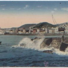 Cartoline: POSTAL GRAN CANARIA LAS PALMAS VISTA GENERAL OLAS PESCADORES ED. RODRIGUES PUERTO DE LA LUZ. Lote 46588579