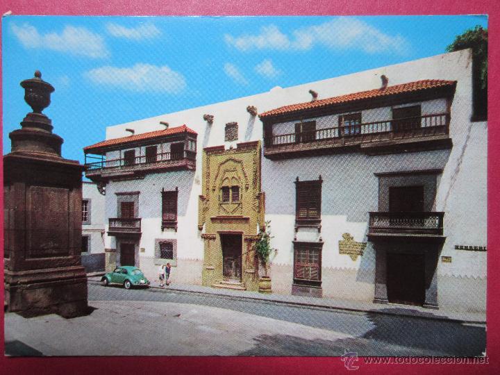 Las Palmas De Gran Canaria Casa De Colon Coch Comprar Postales