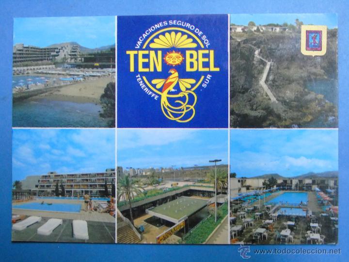 POSTAL DE TENERIFE. AÑO 1987. LAS GALLETAS, TEN BEL HOTEL PARK. 820 (Postales - España - Canarias Moderna (desde 1940))