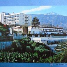 Postais: POSTAL DE TENERIFE. PUERTO DE LA CRUZ. AÑO 1968. HOTEL TIGAIGA, VISTA PARCIAL, TEIDE. 832. Lote 47062985