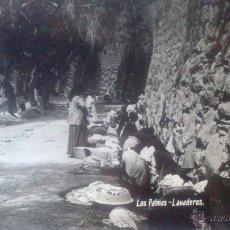 Postales: LAS PALMAS, LAVADEROS. Lote 47065768