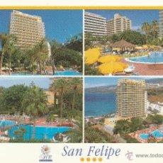 Postales: Nº 22296 POSTAL HOTEL SAN FELIPE TENERIFE. Lote 47213793
