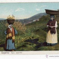 Postales: GRAN CANARIA. TIPOS CANARIOS.. Lote 47406862