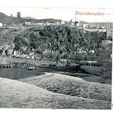 Cartes Postales: LA PALMA DESEMBARCADERO. REVERSO SIN DIVIDIR. CIRCULADA. Lote 47610665