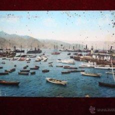 Postales: ANTIGUA POSTAL DE SANTA CRUZ DE TENERIFE. EL PUERTO. CIRCULADA. Lote 47671805