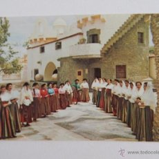 Postales: AUTÉNTICO TRAJE CANARIO REVIVIDO POR LA SECCIÓN FEMENINA DE F.E.T. Y DE LAS J.O.N.S.,GRAN CANARIA. Lote 47723531