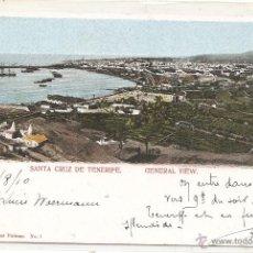 Postales: SANTA CRUZ DE TENERIFE. DORSO SIN DIVIDIR. Lote 47757736