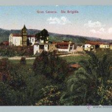 Postales: POSTAL ANTIGUA SANTA BRÍGIDA. GRAN CANARIA.. Lote 48534311