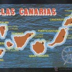 Postales: *ISLAS CANARIAS* ED. GLOBAL TRADERS Nº 1081. NUEVA.. Lote 48650715