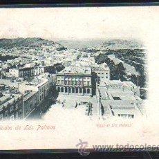 Postales: TARJETA POSTAL DE LAS PALMAS - VISTA DE LAS PALMAS. LIBRERIA INTERNACIONAL. 1900. VER DORSO. Lote 48727889