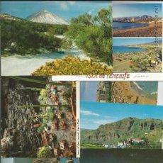 Postales: LOTE 15 POSTALES ISLAS CANARIAS (TENERIFE, LANZAROTE Y GRAN CANARIA). Lote 48774465