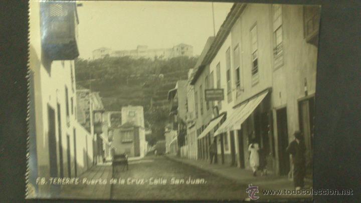 Postal De Tenerife Puerto De La Cruz Calle San Juan