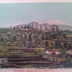 Postales: TENERIFE, GRAN HOTEL OROTAVA. Lote 48839076