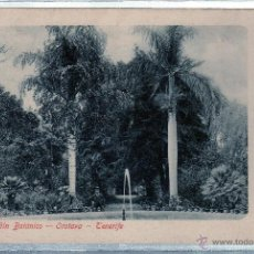 Postales: TARJETA POSTAL DE TENERIFE. JARDIN BOTANICO. OROTAVA. A. GHON. . Lote 49069922