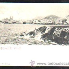 Postales: TARJETA POSTAL DE LAS PALMAS, GRAN CANARIA. BAZAR ALEMAN. Lote 49089106