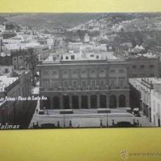 Postales: LAS PALMAS. PLAZA DE SANTA ANA. Lote 49459037
