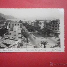 Postales: SANTA CRUZ DE TENERIFE. RAMBLA DEL GENERAL FRANCO. ARRIBAS. Lote 49684112